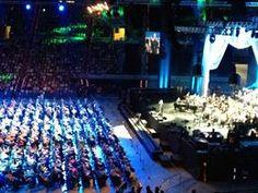 Unas 10.000 personas en el concierto contra el Alzehimer en Barcelona