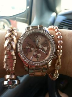 Rose Gold Watch.. who doesn't love rose gold