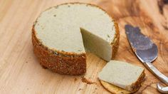 This is a super tasty vegan almond cheese that you can easily make at home. Just a handful of simple ingredients combine into a delicious plant based treat! Non-dairy cheese goodness that you will want to eat all on your own :-)Vegan Herb and Garlic Almond Cheese - This is a super tasty vegan almond