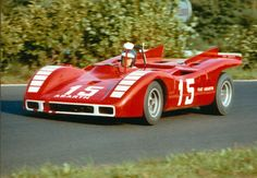 The Abarth 2000SP of Kurt Ahrens at the 500 Kms 1970