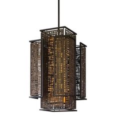 Corbett Lighting Shoji 4-light Entry Pendant