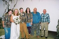 Redneck Wedding Pic.