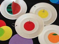 手作り絵本 簡単 紙皿 工作 リングカード 「まるのほん」 - YouTube