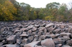 Ringing Rocks Park, Bucks County, Pennsylvania