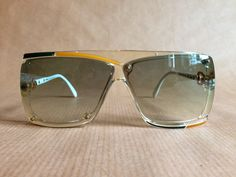 Cazal Mod 859 Col 276 Vintage Sunglasses Made in West Germany New Old Stock