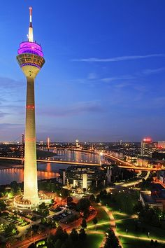The beautiful city of Dusseldorf #Germany #sightseeing