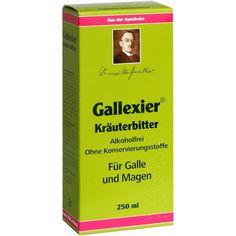 GALLEXIER Kräuterbitter Salus:   Packungsinhalt: 250 ml Flüssigkeit PZN: 01986003 Hersteller: SALUS Pharma GmbH Preis: 6,54 EUR inkl. 19…