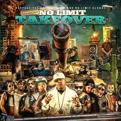 Respect The Underground: No Limit Takeover Vol. 1  #Album #Download #Mixtape #NoLimit #RespectTheUnderground #Souncloud #Music