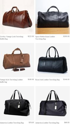50340b46b9b1 Cowboy Vintage Look Travelling Duffel Bag Travel Luggage