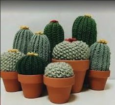 Risultati immagini per cactus tejidos al crochet Crochet Diy, Cactus En Crochet, Crochet Gifts, Crochet Flowers, Knitting Projects, Crochet Projects, Amigurumi Patterns, Crochet Patterns, Confection Au Crochet