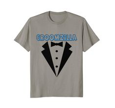 Funny #Groomzilla #Wedding #Tshirt for Grooms to Be, variety of sizes & colors available.  Dare you give this to the #groom to be in your life?  Casual wedding shirt great for #bachelor parties and the like.  Visit now