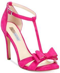 INC International Concepts Women's Reesie Bow T-Strap Sandals, Only at Macy's   macys.com
