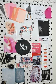 Office Nook & Inspiration Board