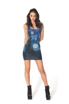 BLACK MILK STARRY NIGHT DRESS