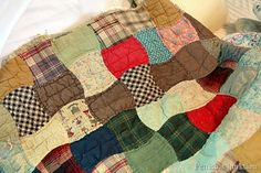colorful patchwork quilt Petticoat Junktion collection