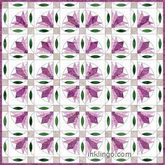 All About Inklingo » Blog Archive » Inklingo Leaf Sashing Quilt ...