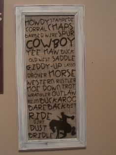 want it for my baby boys cowboy room if i have a boy kid stuff