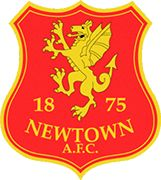Newtown AFC of Wales crest. Soccer Teams, Football Team, British Football, Crests, Brand Design, Badges, Creative Art, Club, Football Squads