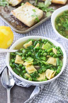 30 Minute Spring Veggie and Lemon SoupReally nice recipes. Every  Mein Blog: Alles rund um die Themen Genuss & Geschmack  Kochen Backen Braten Vorspeisen Hauptgerichte und Desserts