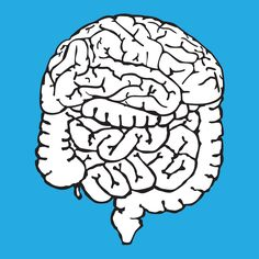 """Braintestine"". Visual poem originally published in the book ""Mastodontes na sala de espera"" (2011)."