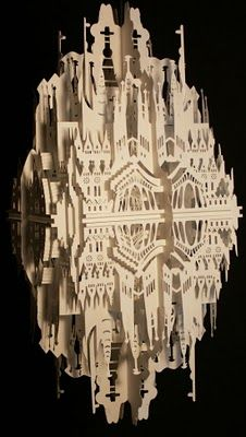Amazing Art of Origami \ Kirigami paper folding (Origami is different to Kirigami as it allows no cuts)