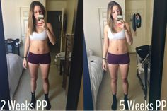 Body after baby series; a journey back to fit. Post-pregnancy workouts and nutrition for weight-loss and fitness
