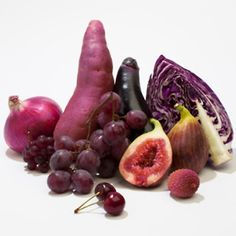 7 ways to raise HDL (good) cholesterol.  Courtesy of AOL.  Foods that are rich in the colors red and purple may both raise good cholesterol while lowering bad cholesterol.  What are some of your favorite purple foods?