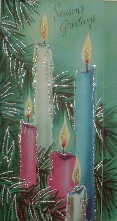 25 Days Of Christmas, Old Christmas, Christmas Scenes, Christmas Candles, Christmas Music, Retro Christmas, Christmas Greetings, Christmas Crafts, Xmas