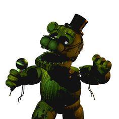 Phantom Freddy (Freddy 3.0) from fnaf 3