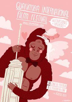 Poster for Guarimba International Film Festival FRANNERD