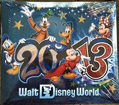 Walt Disney World 2013 Small Scrapbook New 8×8 Park Review