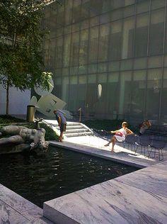 NYC. MOMA gardens   Chris Brady