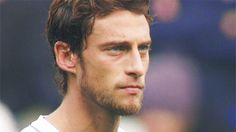 Let's start off the World Cup hotties list shall we? Claudio Marchisio. Let me just sit on his face. Dat ruggedness. Estos ojos. PAPI