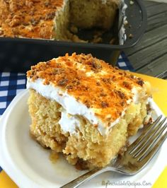 Butterfinger Extasy Cake! – Incredible Recipes From Heaven