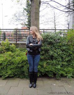 Jacke: Esprit Sweatshirt: H&M Jeans: Seven Stiefel: Jette Joop Tasche: MCM