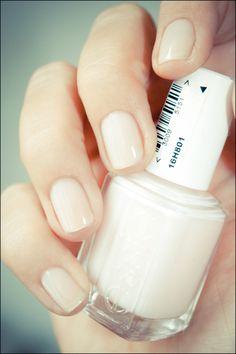 "Essie nail polish in ""Mademoiselle"""