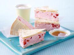 Erdbeer-Toffee-Eis-Sandwich