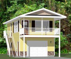 16x32 Tiny House -- #16X32H10
