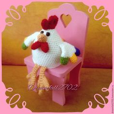 Knitted rooster / Life Design