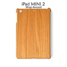 Wood Texture iPad Mini 2 Case Cover Wrap Around