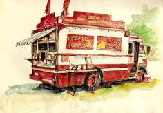 Stephen Gardner - Northampton, Massachusetts (Urban Sketchers)