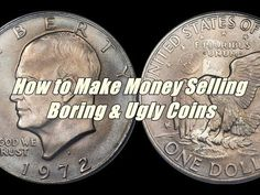 """Please watch: """"How Much Is A 1976 Bicentennial Kennedy Half Dollar Worth? Us Coins, Rare Coins, Valuable Coins, Coins Worth Money, Coin Worth, Coin Values, Old Money, Conspiracy Theories, Half Dollar"""