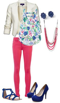 """""""Floral Yah"""" by danicashea on Polyvore"""