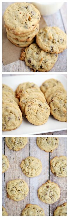 Chocolate Chip Pudding Cookies   Cookie Recipes