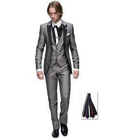 Custom Made Groomsmen Shawl White Lapel Groom Tuxedos Blue Men Suits Wedding Best Man Blazer (Jacket+Pants+Vest+Bow Tie ) Blue Suit Men, Blue Suit Jacket, Blazer Jacket, Cargo Jacket, Man Suit, Leather Jacket, Gray Jacket, Groom Tuxedo, Tuxedo For Men