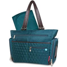 """Fisher-Price FastFinder Quilted Tote Diaper Bag - Blue - Pacesetter - Babies """"R"""" Us"""