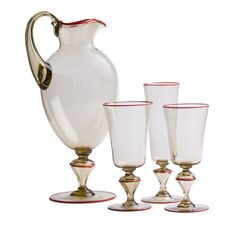 https://artemest.com/products/corallo-set-of-pitcher-and-murano-glass