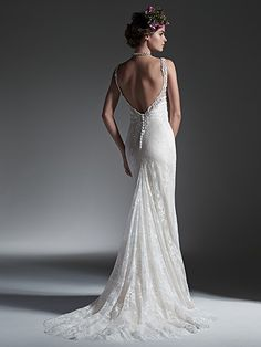Perri Wedding Dress by Maggie Sottero | back