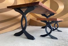 Design Metal Table Legs and Base for Wood Top par FlowylineDesign Modern Table Legs, Iron Table Legs, Dining Table Legs, Trestle Table, Kitchen Tables, Metal Desk Legs, Steel Table Legs, Pedestal Table Base, Coffee Table Base