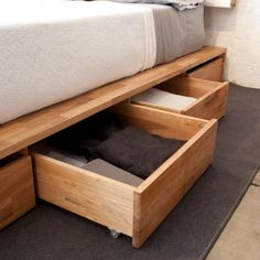 Storage Platform Bed - I need this to attach our headboard to!